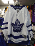 Toronto Maple Leafs White Premier Youth Blank Hockey Jersey - Multiple Sizes