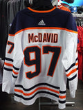 Men's Edmonton Oilers Connor McDavid adidas White Away Authentic Player - Hockey Jersey - Bleacher Bum Collectibles, Toronto Blue Jays, NHL , MLB, Toronto Maple Leafs, Hat, Cap, Jersey, Hoodie, T Shirt, NFL, NBA, Toronto Raptors