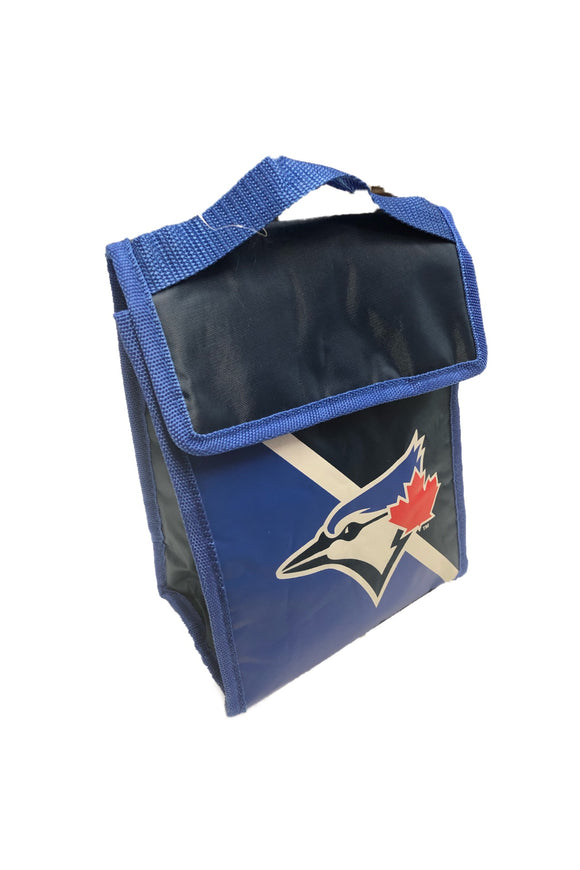 Toronto Blue Jays Insulated Hot & Cold Gradient Lunch Bag By Forever Collectibles - Bleacher Bum Collectibles, Toronto Blue Jays, NHL , MLB, Toronto Maple Leafs, Hat, Cap, Jersey, Hoodie, T Shirt, NFL, NBA, Toronto Raptors