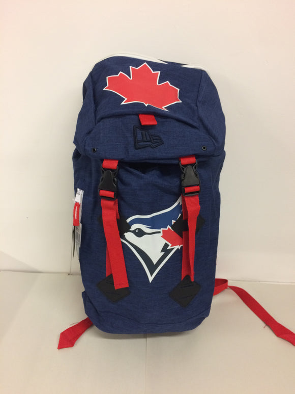 Toronto Blue Jays Heritage Rucksack Laptop Backpack Bag Made By New Era - Bleacher Bum Collectibles, Toronto Blue Jays, NHL , MLB, Toronto Maple Leafs, Hat, Cap, Jersey, Hoodie, T Shirt, NFL, NBA, Toronto Raptors