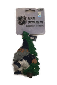 Toronto Maple Leafs NHL Hockey Tree Carrying Gnome Christmas Tree Ornament - Bleacher Bum Collectibles, Toronto Blue Jays, NHL , MLB, Toronto Maple Leafs, Hat, Cap, Jersey, Hoodie, T Shirt, NFL, NBA, Toronto Raptors