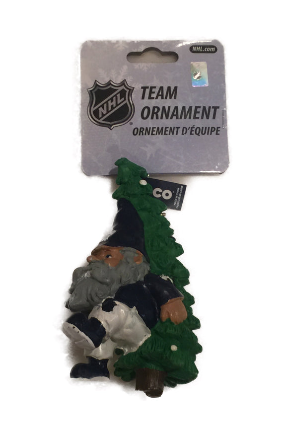 Toronto Maple Leafs NHL Hockey Tree Carrying Gnome Christmas Tree Ornament
