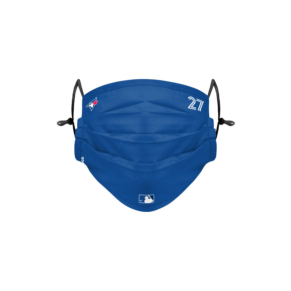 Toronto Blue Jays Vladimir Guerrero Jr MLB Baseball Foco On Field Game Adjustable Face Cover