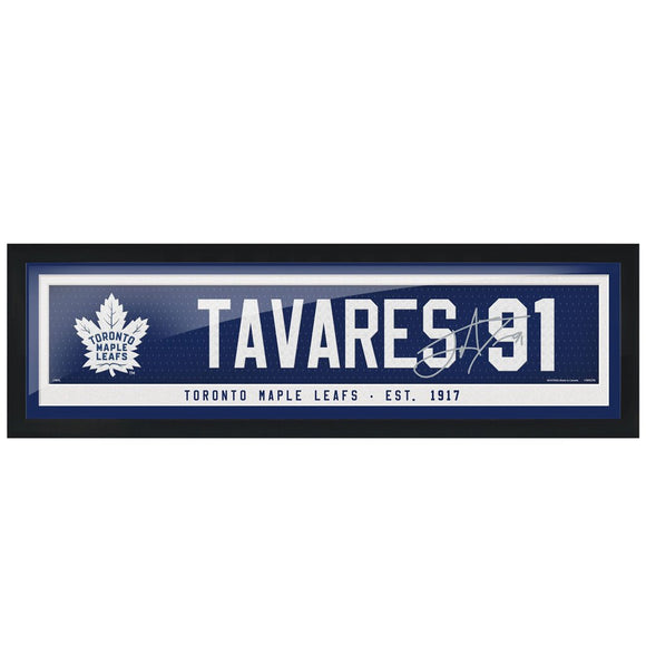 Toronto Maple Leafs John Tavares Name & Number 6