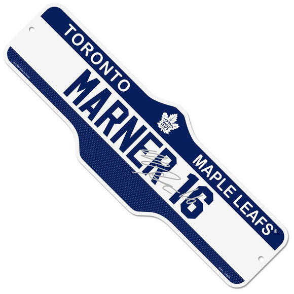Toronto Maple Leafs Mitch Marner Name & Number 7.5