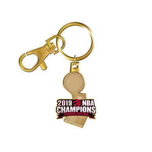 Toronto Raptors 2019 NBA Finals Champions Basketball Collectors Keychain