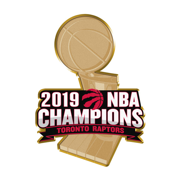 Toronto Raptors 2019 NBA Finals Champions Basketball Collectors Lapel Pin