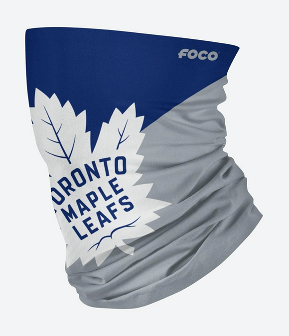Toronto Maple Leafs NHL Hockey Team Gaiter Scarf Adult Face Covering Mask