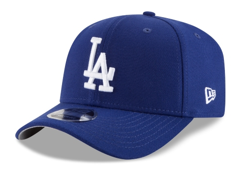 Los Angeles Dodgers New Era MLB Team Stretch-Snap 9FIFTY Curved Snapback Hat