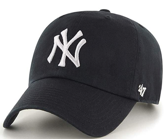 Men's New York Yankees MLB '47 Clean up Structured Black Adjustable Cap