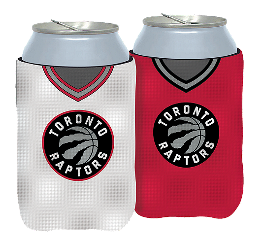 Toronto Raptors Primary Current Logo NBA Basketball Reversible Can Cooler