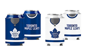 Toronto Maple Leafs Primary Current Logo NHL Hockey Reversible Can Cooler