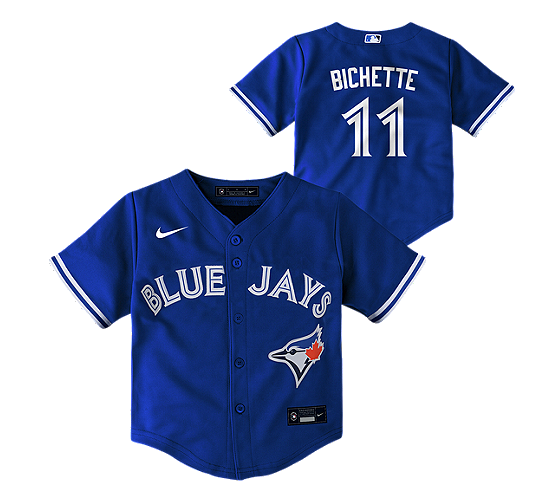 Toronto Blue Jays Bo Bichette Nike Child Blue Alternate 2020 Replica Player - Jersey