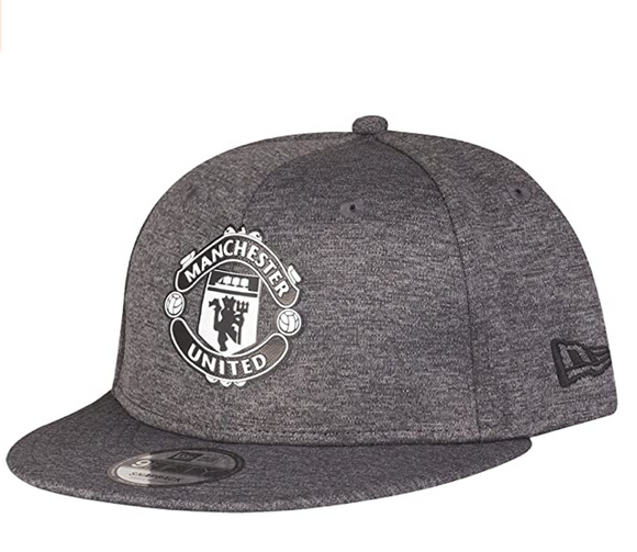 New Era Manchester United 9Fifty Shadow Tech Gray Snapback Hat