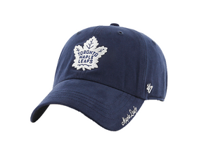 Toronto Maple Leafs  47 Brand One Size Adjustable Cap Hat Ladies Women - Buckle Closer
