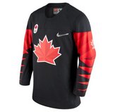 2018 Team Canada Nike Hockey Olympic Black Blank Replica Jersey - Men's - Bleacher Bum Collectibles, Toronto Blue Jays, NHL , MLB, Toronto Maple Leafs, Hat, Cap, Jersey, Hoodie, T Shirt, NFL, NBA, Toronto Raptors