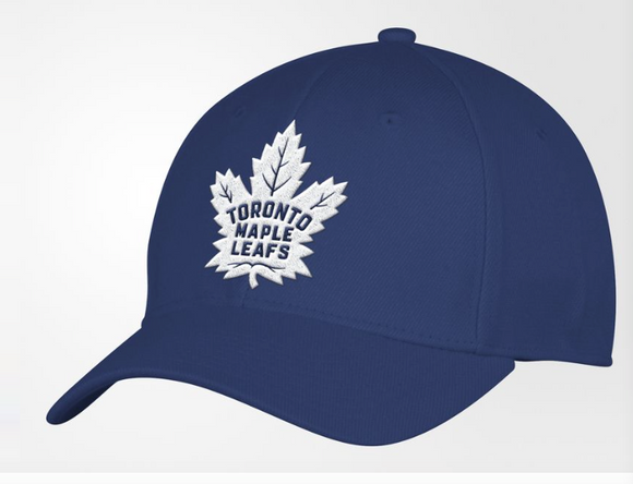 Men's Toronto Maple Leafs Structured Adjustable Fit adidas Blue Cap Hat One Size - Bleacher Bum Collectibles, Toronto Blue Jays, NHL , MLB, Toronto Maple Leafs, Hat, Cap, Jersey, Hoodie, T Shirt, NFL, NBA, Toronto Raptors