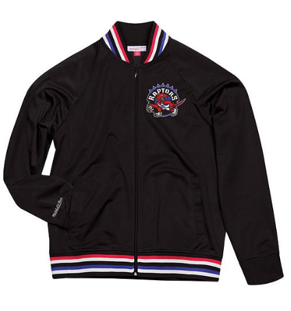 Toronto Raptors Mitchell & Ness NBA Men's Top Prospect Track Jacket