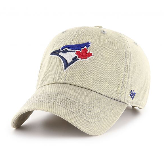 Toronto Blue Jays MLB Baseball '47 Brand Cement Clean Up Hat Cap One Size