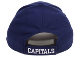 Men's Washington Capitals Basic Fan Structured Adjustable Strap One Size Fits Most Hat Cap - Bleacher Bum Collectibles, Toronto Blue Jays, NHL , MLB, Toronto Maple Leafs, Hat, Cap, Jersey, Hoodie, T Shirt, NFL, NBA, Toronto Raptors