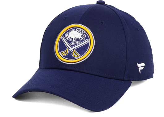 sports shoes 0de6e 22355 Men s Buffalo Sabres Basic Fan Structured Adjustable Strap One Size Fits  Most Hat Cap - Bleacher