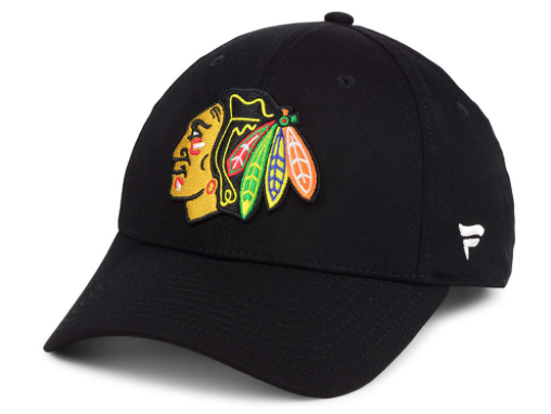 Men's Chicago Blackhawks Basic Fan Structured Adjustable Strap One Size Fits Most Hat Cap - Bleacher Bum Collectibles, Toronto Blue Jays, NHL , MLB, Toronto Maple Leafs, Hat, Cap, Jersey, Hoodie, T Shirt, NFL, NBA, Toronto Raptors