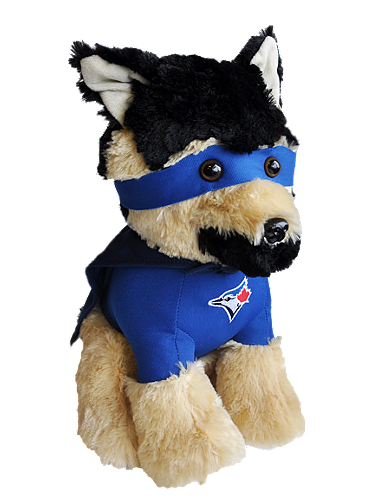 Toronto Blue Jays MLB Baseball German Shepard Super Hero Plush by Forever Collectibles