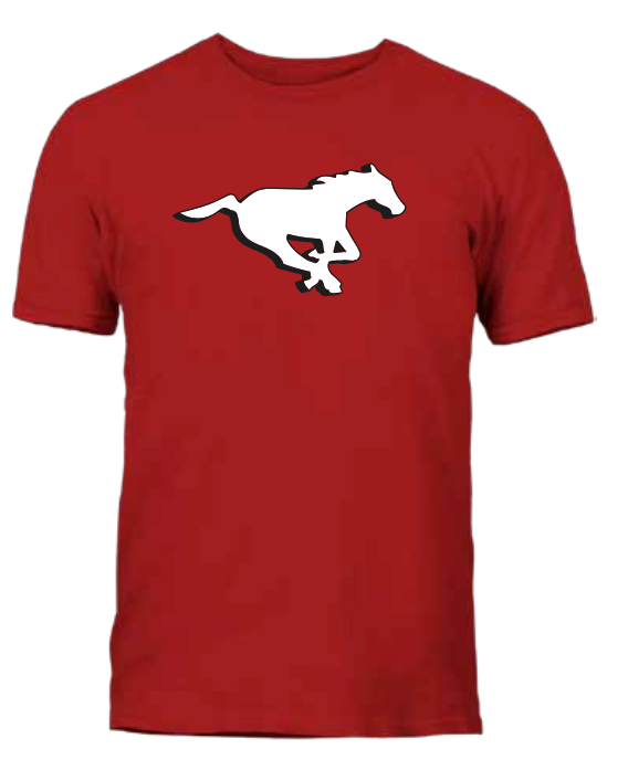 Men's Calgary Stampeders Red Primary Logo CFL Football T Shirt - Multiple Sizes - Bleacher Bum Collectibles, Toronto Blue Jays, NHL , MLB, Toronto Maple Leafs, Hat, Cap, Jersey, Hoodie, T Shirt, NFL, NBA, Toronto Raptors