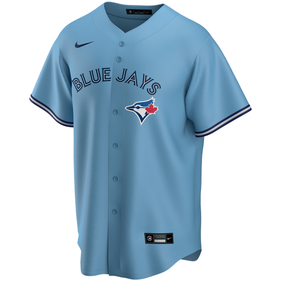 Men's Toronto Blue Jays Nike Light Blue Alternate 2020 Replica Team Jersey - Blank - Bleacher Bum Collectibles, Toronto Blue Jays, NHL , MLB, Toronto Maple Leafs, Hat, Cap, Jersey, Hoodie, T Shirt, NFL, NBA, Toronto Raptors