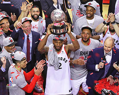 Toronto Raptors Game 6 2019 Eastern Conference Finals Unsigned Photo Picture 16x20 - Multiple Poses