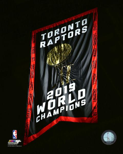 Toronto Raptors Opening Night Banner Raising Night Unsigned Photo Picture 16x20 - Multiple Poses