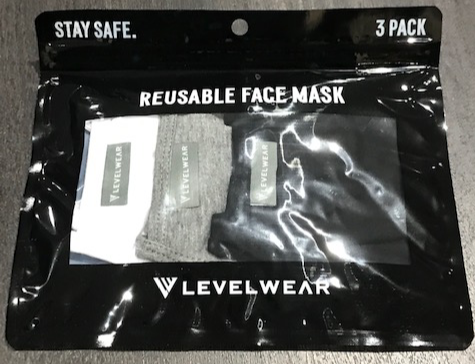 Levelwear Initiative Level #2 Guard Dual Layer Face Mask Pack of 3 -  Coloured