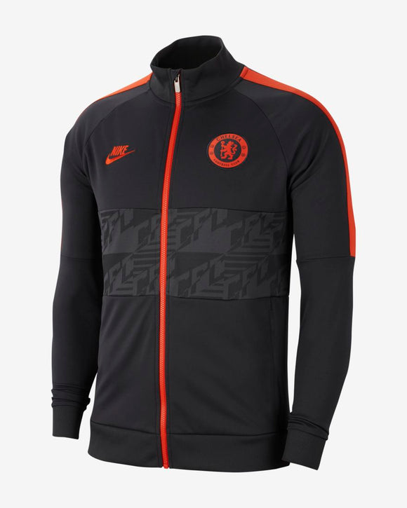 2019-2020 Chelsea FC Soccer Football Nike I96 Full Zip Antracite Orange Jacket - Bleacher Bum Collectibles, Toronto Blue Jays, NHL , MLB, Toronto Maple Leafs, Hat, Cap, Jersey, Hoodie, T Shirt, NFL, NBA, Toronto Raptors