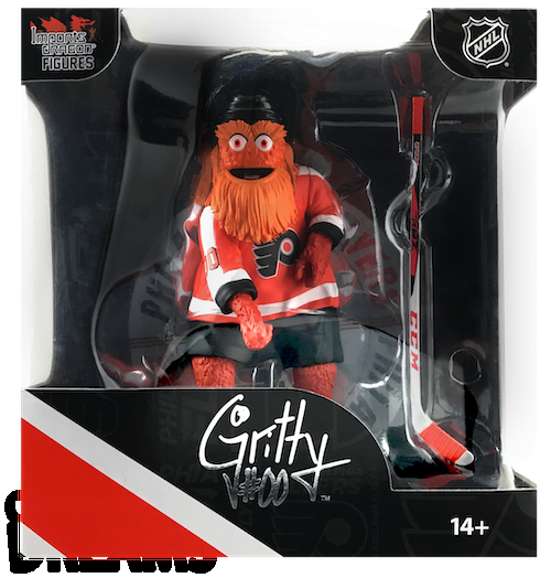 Gritty The Mascot Philadelphia Flyers 2019-20 Unsigned Imports Dragon 6