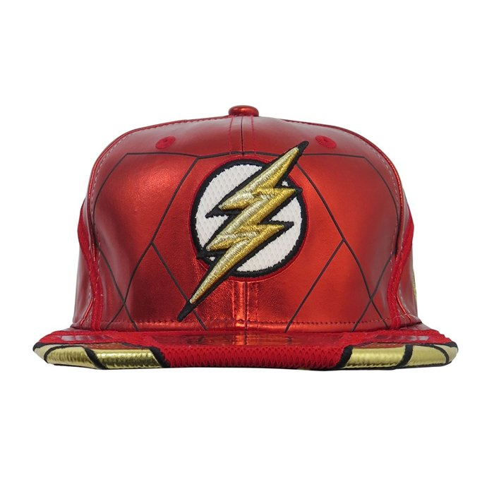 ... Flash Justice League Armor Limited Edition All Over 59Fifty Fitted Hat  - Bleacher Bum Collectibles a06bcec45d1