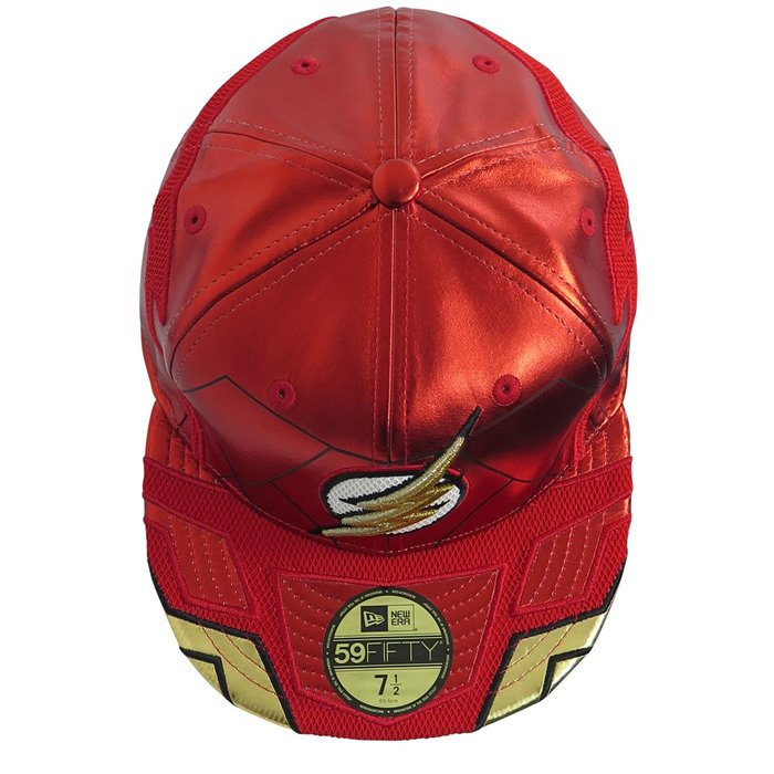 official photos 58aa1 65afd ... Flash Justice League Armor Limited Edition All Over 59Fifty Fitted Hat  - Bleacher Bum Collectibles, ...