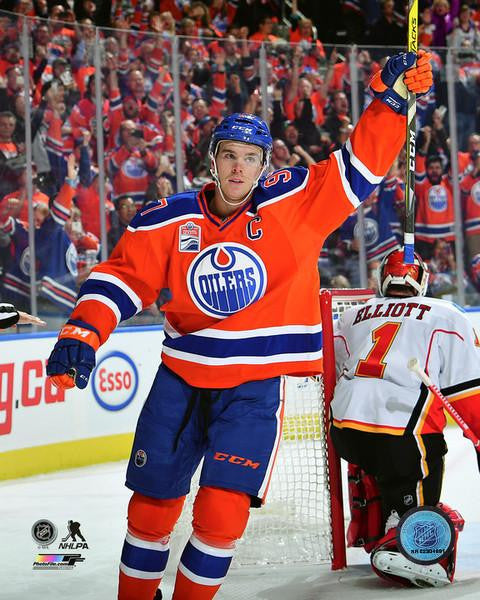 Connor McDavid Edmonton Oilers Picture Photograph Multiple Poses & Sizes - Bleacher Bum Collectibles, Toronto Blue Jays, NHL , MLB, Toronto Maple Leafs, Hat, Cap, Jersey, Hoodie, T Shirt, NFL, NBA, Toronto Raptors