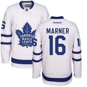 "Men's Toronto Maple Leafs Mitchell ""Mitch"" Marner Away White Hockey Jersey - Bleacher Bum Collectibles, Toronto Blue Jays, NHL , MLB, Toronto Maple Leafs, Hat, Cap, Jersey, Hoodie, T Shirt, NFL, NBA, Toronto Raptors"