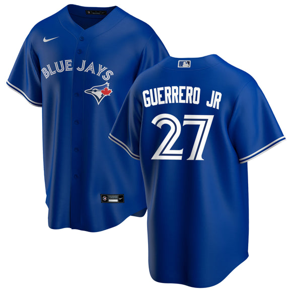 Toronto Blue Jays Vladimir Guerrero Jr Alternate MLB Baseball 2020 Version Jersey