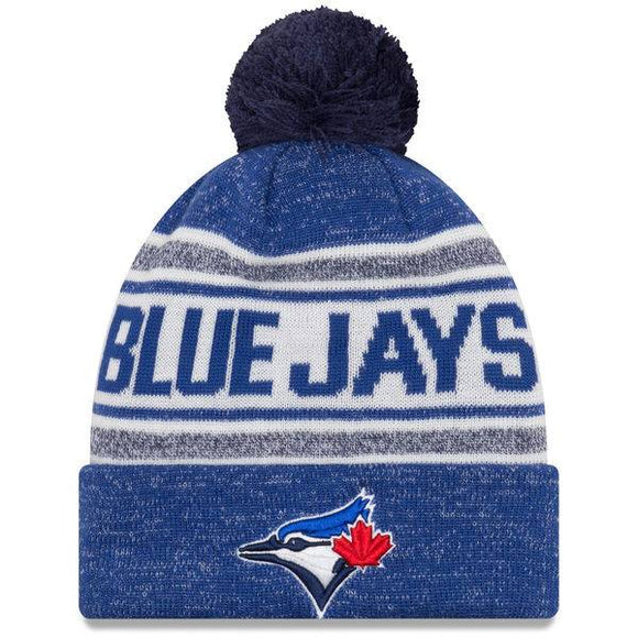 New Era Toronto Blue Jays Adult Royal Toasty Cover Cuffed Pom Toque Beanie Knit Hat Cap - Bleacher Bum Collectibles, Toronto Blue Jays, NHL , MLB, Toronto Maple Leafs, Hat, Cap, Jersey, Hoodie, T Shirt, NFL, NBA, Toronto Raptors