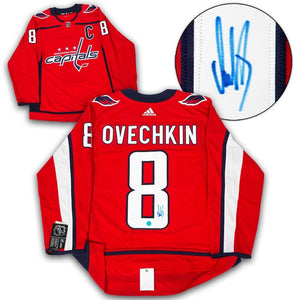 Alexander Ovechkin Washington Capitals Autographed Adidas Authentic Hockey Jersey - Bleacher Bum Collectibles, Toronto Blue Jays, NHL , MLB, Toronto Maple Leafs, Hat, Cap, Jersey, Hoodie, T Shirt, NFL, NBA, Toronto Raptors