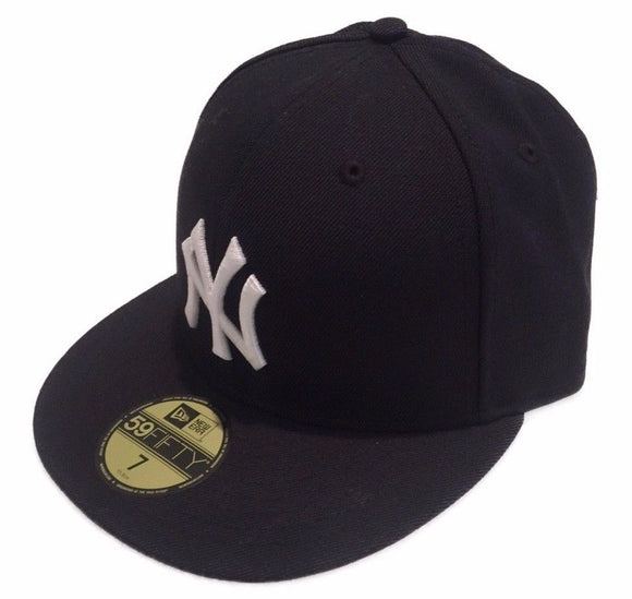 New York Yankees 1999-2006 On Field Retro Navy 59fifty Fitted MLB Baseball Hat