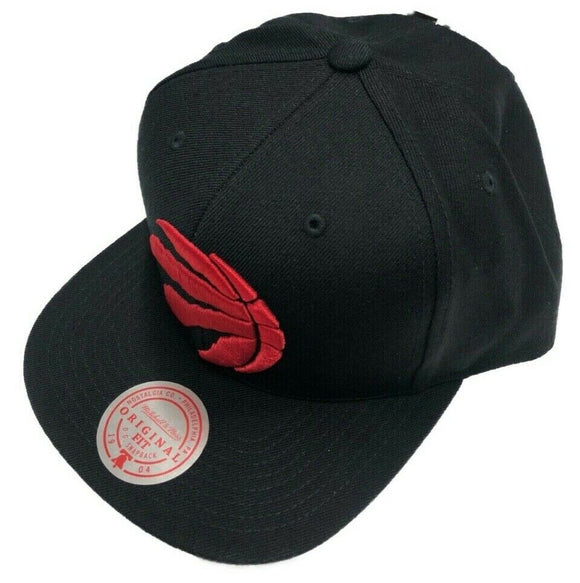 Toronto Raptors Team Ground Black Hat Red Logo NBA Basketball Mitchell & Ness Cap - Bleacher Bum Collectibles, Toronto Blue Jays, NHL , MLB, Toronto Maple Leafs, Hat, Cap, Jersey, Hoodie, T Shirt, NFL, NBA, Toronto Raptors