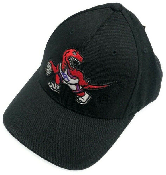 Toronto Raptors Team Ground Black Hat Retro Logo NBA Basketball Mitchell & Ness Flex Fit Cap - Multiple Sizes - Bleacher Bum Collectibles, Toronto Blue Jays, NHL , MLB, Toronto Maple Leafs, Hat, Cap, Jersey, Hoodie, T Shirt, NFL, NBA, Toronto Raptors
