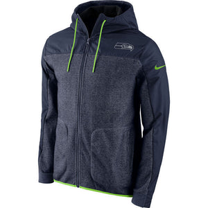 Men's Seattle Seahawks Nike Navy AV15 Winterized Full-Zip Jacket - Bleacher Bum Collectibles, Toronto Blue Jays, NHL , MLB, Toronto Maple Leafs, Hat, Cap, Jersey, Hoodie, T Shirt, NFL, NBA, Toronto Raptors