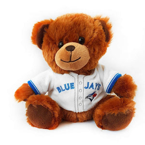 "Toronto Blue Jays Vladimir Guerrero Jr. MLB Baseball 7.5"" Jersey Teddy Bear Plush by Forever Collectibles - Bleacher Bum Collectibles, Toronto Blue Jays, NHL , MLB, Toronto Maple Leafs, Hat, Cap, Jersey, Hoodie, T Shirt, NFL, NBA, Toronto Raptors"