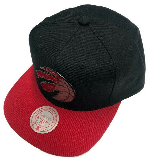 Toronto Raptors Tuff Weld Hat Primary Red Logo NBA Basketball Mitchell & Ness Snapback Cap - Bleacher Bum Collectibles, Toronto Blue Jays, NHL , MLB, Toronto Maple Leafs, Hat, Cap, Jersey, Hoodie, T Shirt, NFL, NBA, Toronto Raptors