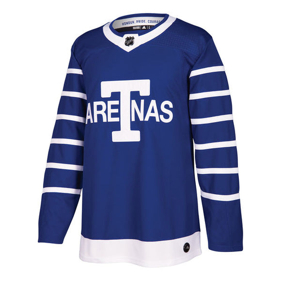 Men's Toronto Arenas adidas Blue Throwback Authentic Hockey – Blank Jersey - Bleacher Bum Collectibles, Toronto Blue Jays, NHL , MLB, Toronto Maple Leafs, Hat, Cap, Jersey, Hoodie, T Shirt, NFL, NBA, Toronto Raptors