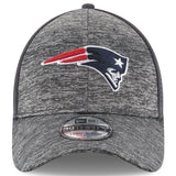 Men's New England Patriots New Era Heathered Gray/Graphite Shadowed Team 39THIRTY Flex Hat - Bleacher Bum Collectibles, Toronto Blue Jays, NHL , MLB, Toronto Maple Leafs, Hat, Cap, Jersey, Hoodie, T Shirt, NFL, NBA, Toronto Raptors