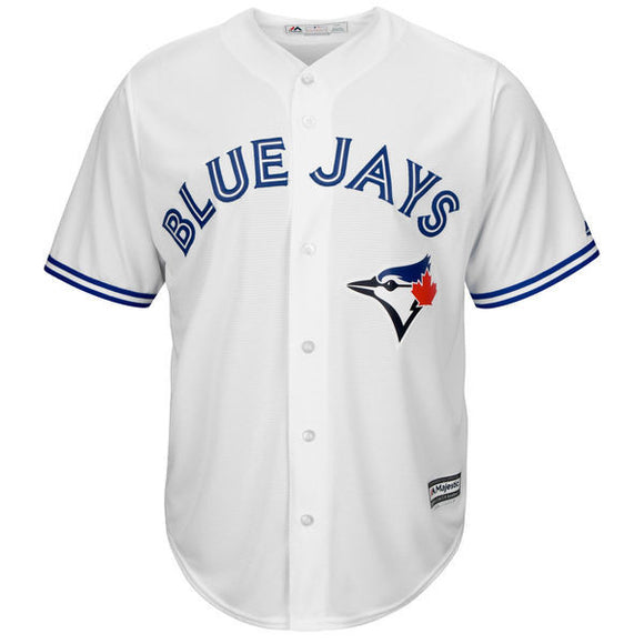 Men's Toronto Blue Jays Majestic White Home Cool Base Team Jersey MLB Baseball - Bleacher Bum Collectibles, Toronto Blue Jays, NHL , MLB, Toronto Maple Leafs, Hat, Cap, Jersey, Hoodie, T Shirt, NFL, NBA, Toronto Raptors